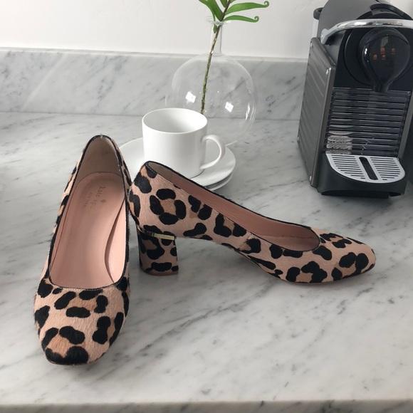 kate spade Shoes - Kate Spade leopard Milan print pumps